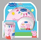 Best Dinnersets - 文字Peppa Pig Tea Party dinner-set Review