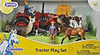 Breyer Stablemates Tractor and Animals Play Set