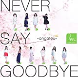 【Amazon.co.jp限定】NEVER SAY GOODBYE ~arigatou~(Type-A)(DVD付)(生写真付)
