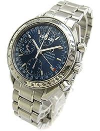 [オメガ]OMEGA 腕時計 3523-80 スピードマスター トリプルカレンダー ネイビー文字盤 磨き仕上済 メンズ 中古