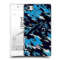 オフィシャル NFL カモフラージュ カロライナ・パンサーズ ロゴ ハードバックケース Sony Xperia Z5 Compact