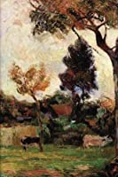 Two Cows in the Meadow by Paul Gauguin 1884 Blank/Lined Journal