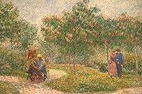 ゴッホ・[Vincent van Gogh] プリキャンバス複製画・ ギャラリーラップ仕上げ(6号サイズ)