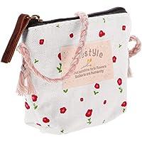 【ノーブランド品】 1:6スケール 人形 ミニ バッグ かわいい ハンドバッグ ドール 衣類 アクセサリー  - 白