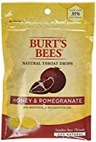 Burt's Bees Cough & Cold Honey & Pomegranate Throat Drops 20 count (a) by Burt's Bees