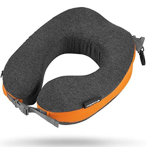 [해외]Fosmon 목 베개 저 반발 베개 목 스탠드 U 형 베개 휴대 베개 목 베개 목 쿠션 목 보호대 베개 형상 기억 폼 | 인체 공학 | 빨 커버 | 이동형 여행용 여행용 출장 낮잠 비행기 버스 사무실 자택 적용/Fosmon neck pillow low rebound pillow neck st...