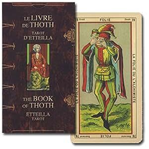 THE BOOK OF THOTH ETTEILLA TAROT ブック オブ トート エッティラ タロット