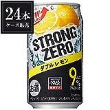 サントリー -196℃ストロングゼロ ダブルレモン(糖類ゼロ)350ml缶1ケース (24本入)