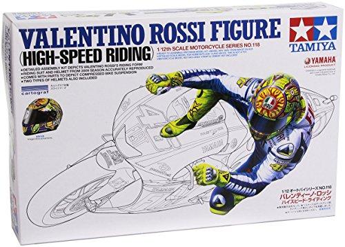 1/12 オートバイシリーズ No.118 バレンティーノロッシ ハイスピードライディング