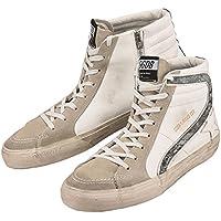 【ゴールデングース】 Golden Goose Sneakers Slide G31MS595.LAN2 メンズ ホワイト 白 レザー スニーカー ハイカット 【並行輸入品】