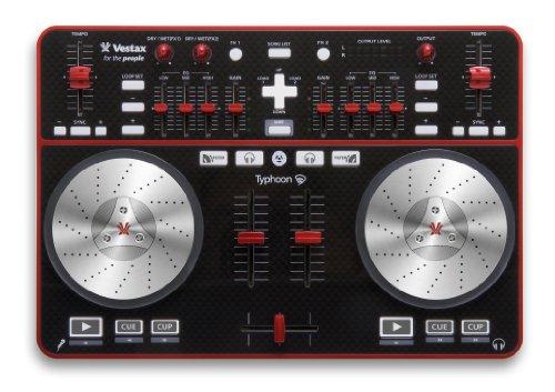 Vestax DJコントローラー Typhoon タイフーン Windows/Macintosh対応 VirtualDJ/Serato DJ Intro対応 オーディオインターフェース内蔵