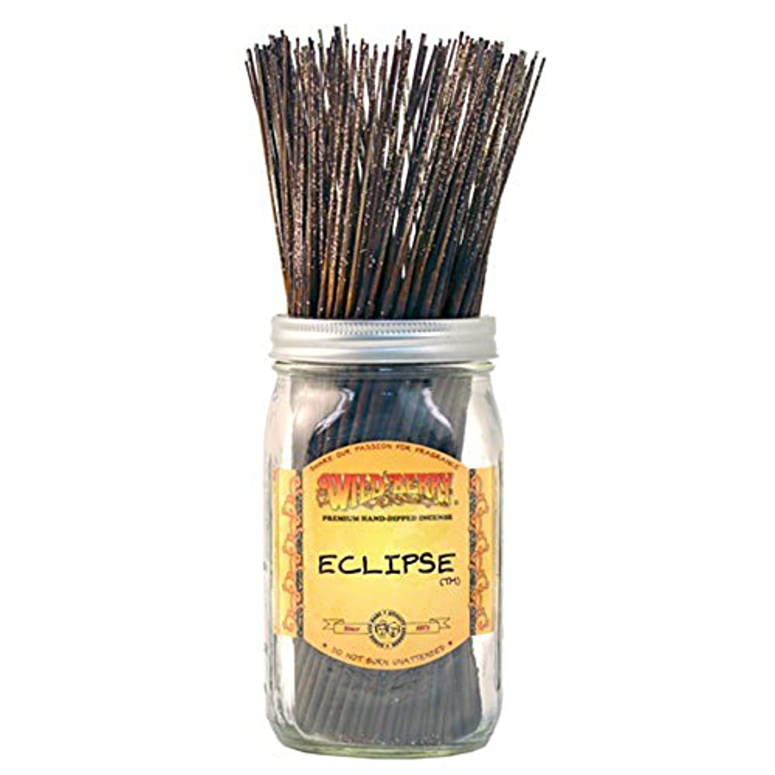 階段拒絶モスWild Berry Eclipse, Highly Fragranced Incense Sticksバルクパック、100ピース、11インチ