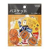学研ステイフル 色紙 シール フレーク バスケット M04253