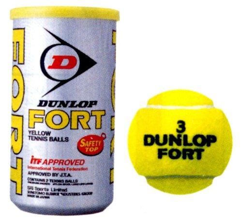 DUNLOP(ダンロップ) フォート 2球缶