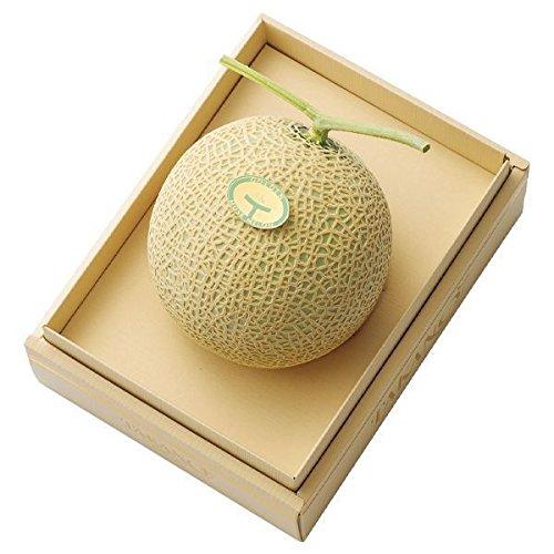 新宿高野 マスクメロン1個入A (静岡産) フルーツ ギフト [内祝い/引出物/贈答用] 果物 デザート #11006