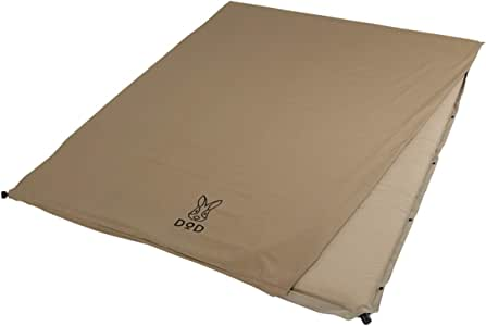 DOD(ディーオーディー) ソトネノサソイ S M L 丸洗いシーツ付き 厚み4.5cmエアマット