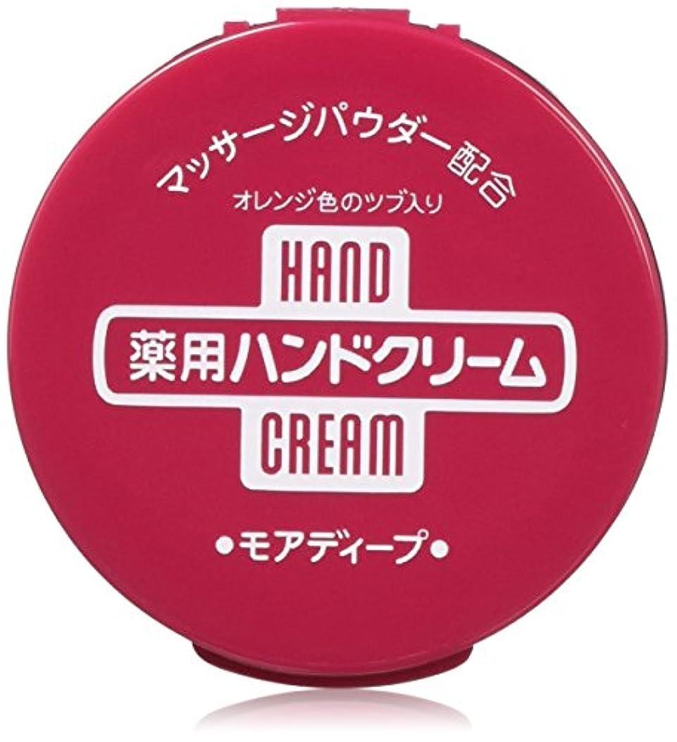 洗剤なる十分【まとめ買い】薬用ハンドクリーム モアディープ 100g×12個
