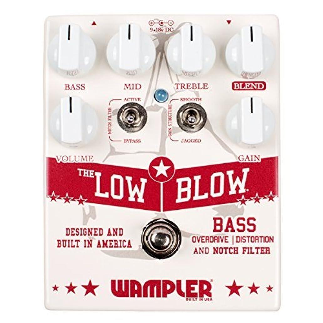 韓国ベンチャー起こりやすいWampler Pedals Low Blow V2 Bass Overdrive and Distortion Effects Pedal [並行輸入品]