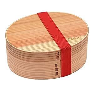 RONDE 木製 弁当箱 曲げわっぱ お米がおいしい 弁当箱 わっぱ