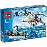 レゴ (LEGO) シティ レスキュープレーンとフィッシングボート 60015