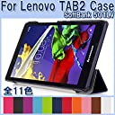 sp-mart(lenovo) SoftBank 501LV ケース Lenovo Tab 2 Case esd3015_31(Black)