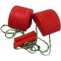 VORCOOL 2pcs/set子供のための子供たち(赤)のための屋外のおもしろいスポーツのおもちゃジャンプスタイルウォークストルトウォーキング