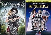 Edward Scissorhands & Beetlejuice Johnny Depp Tim Burton Fantasy Action set [並行輸入品]