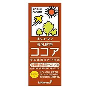 キッコーマン飲料 豆乳飲料 ココア 200ml×18本