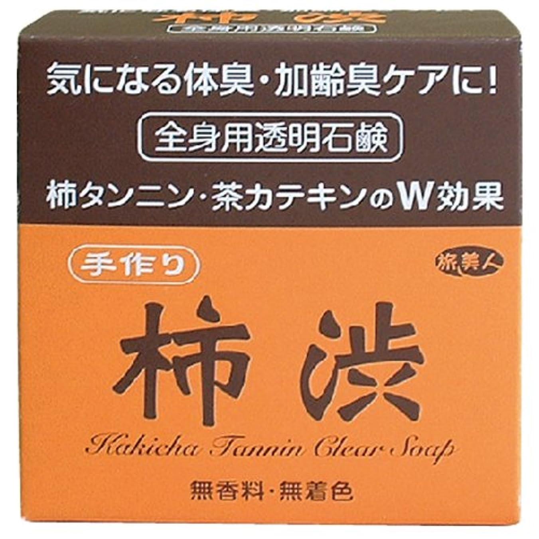 ブロック現像特派員気になる体臭?加齢臭ケアに アズマ商事の手作り柿渋透明石鹸
