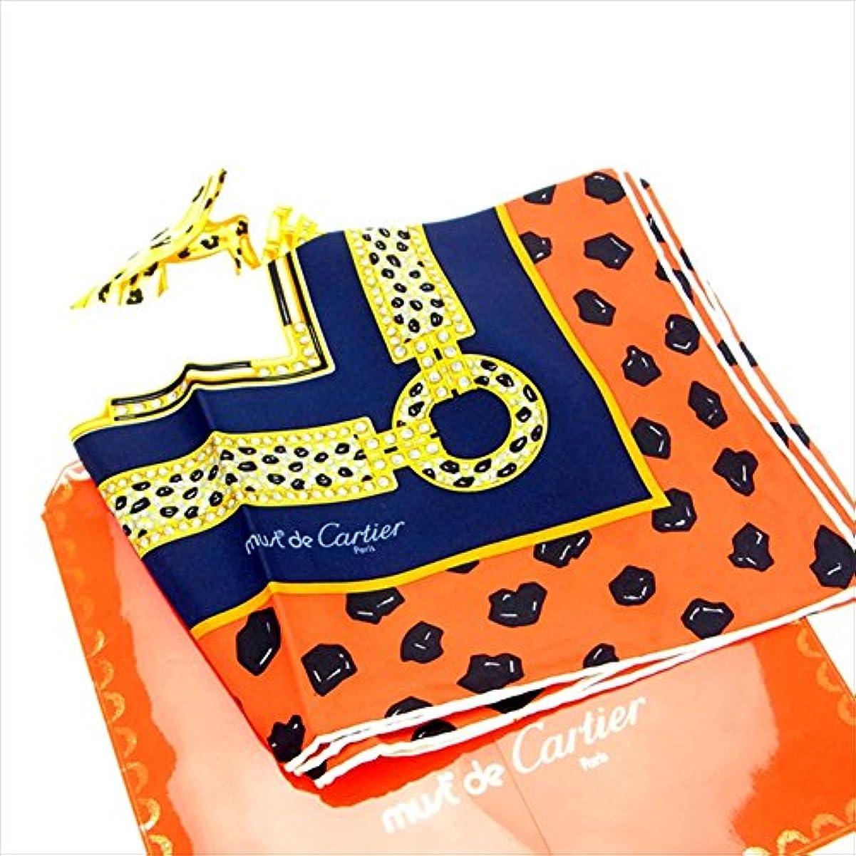バリケード虐殺無し[カルティエ] Cartier スカーフ パンサー 中古 Y834