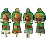 Nickelodeon Teenage Mutant Ninja Turtles Assorted Pull-String Pinata ニコロデオンティーンエイジ?ミュータント?ニンジャ?タートルズ盛り合わせプル文字列ピニャータ?ハロウィン?クリスマス?