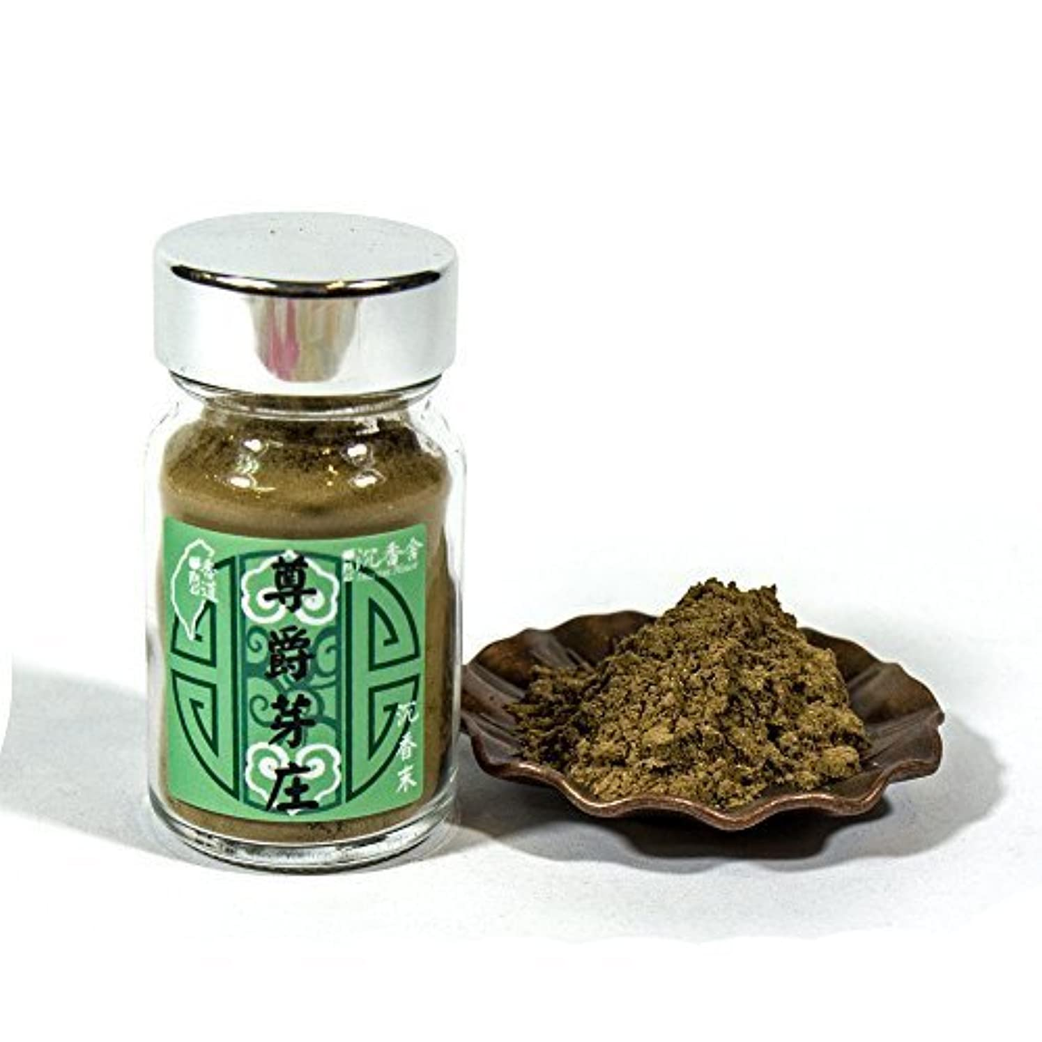 放課後未満リードAgarwood Aloeswood Top Grade Old Stock NhaTrang Chen Xiang Incense Powder 10g by IncenseHouse - Raw Material [...