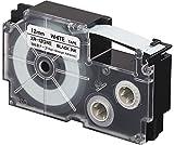 カシオ ラベルライター ネームランド テープ 12mm XR-12GWE 強粘着 白
