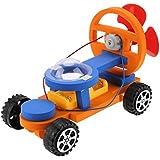 Domybest レーシングカー 科学玩具 電気 風車四輪 実験キット 子供 DIYおもちゃ 物理 小学校 中学校 教授援助 自由研究 組み立て プレゼント