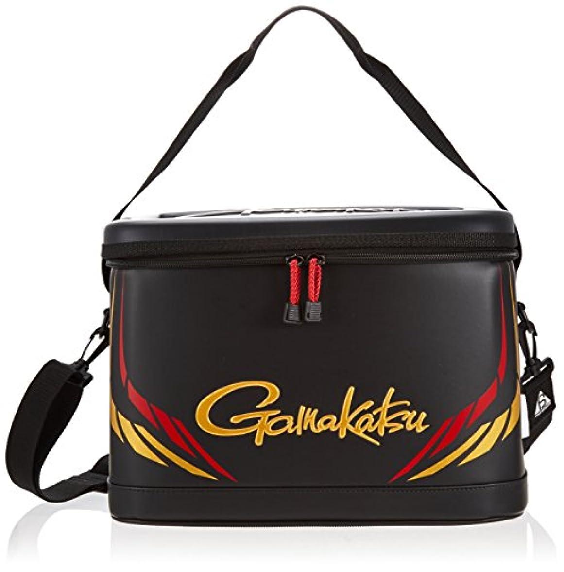 振る舞う鋸歯状落ちたがまかつ(Gamakatsu) ライトタックルバッグ GB312 ブラック/ゴールド.