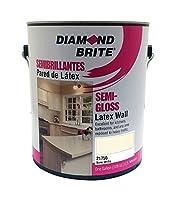 Diamond Brite ペンキ 1-ガロン セミグロスラテックスペイント ハイハイディングホワイト 1 Gallon 21750-1 1