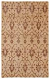 Restoration Collection Hand-Knotted Paprika Rug (2' x 3') [並行輸入品]