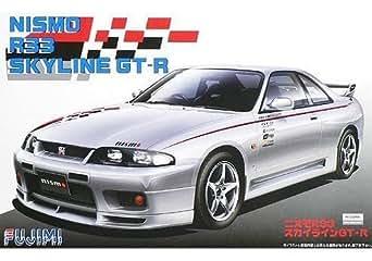 フジミ模型 1/24 インチアップシリーズ No.157 スカイラインGT-R NISMO シャンパンシルバー R33 プラモデル ID157