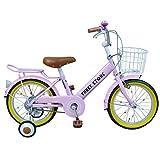 自転車 子供用 16インチ 男の子 女の子 子ども 幼児 幼児車 ジュニア キッズバイク 補助輪 かわいい おすすめ 【AJ-07】 【ガールズピンク】 記念日 誕生日 プレゼントに 自転車デビューならこれ!