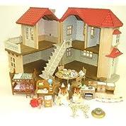 シルバニアファミリー あかりの灯る大きなお家 オリジナルギフトセット Amazon.co.jp セット