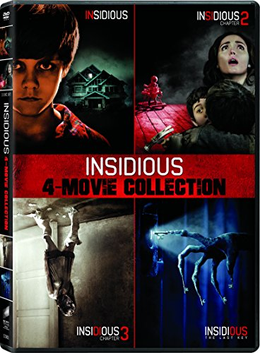 Insidious / Insidious: Chapter 2 / Insidious: Chapter 3 / Insidious: The Last Key - Set