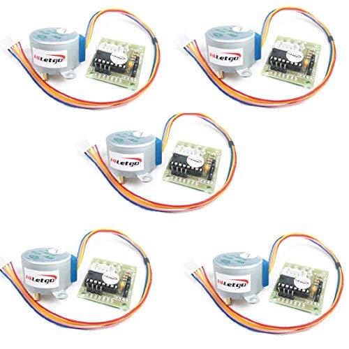 HiLetgo® 5個セット 5V ステッピングモータ+ U...