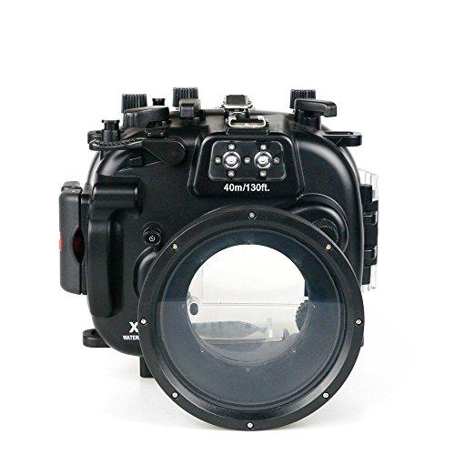 [해외]Sea Frogs Fujifilm X-T1 용 수중 카메라 케이스 수중 하우징 방수 성능 40m 방수 프로텍터 방수 케이스 방수 하우징 보호 케이스 방수 케이스 수중 촬영용 국제 방수 등급 IPX8 블랙/Sea Frogs Fujifilm X-T1 underwater camera case under water h...