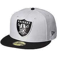 (ニューエラ) NEW ERA ラグビーウェア NFL 5950 オークランド?レイダース キャップ 11434017 [ユニセックス]