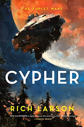 Cypher (The Violet Wars Book 2) (English Edition)