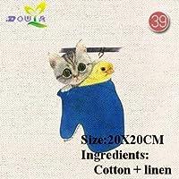 コットンリネン生地手作りの布手染めコットンキャンバス手染めコットン塗装50特別オファー:コーヒー
