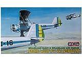 コラモデルス 1/72 ブラジル軍 フォッケウルフ Fw44J プラモデル KORPK72038
