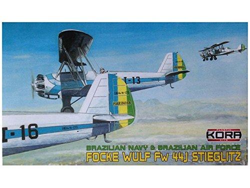 1/72 フォッケウルフ Fw44J  ブラジル  KORPK72038  コラモデルス  KORPK72038 フォッケウルフ Fw44J  B