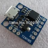 Syex 5pcs/ロットKickstarter Digispark Micro USB開発ボードブルーattiny85 for Arduino