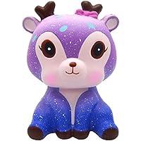 YIKAKIO ★ ストレス解消 減圧 低反発おもちゃ 食品サンプル ストレス解消おもちゃ 子供 大人 誕生日 押し出すおもちゃ 動物玩具